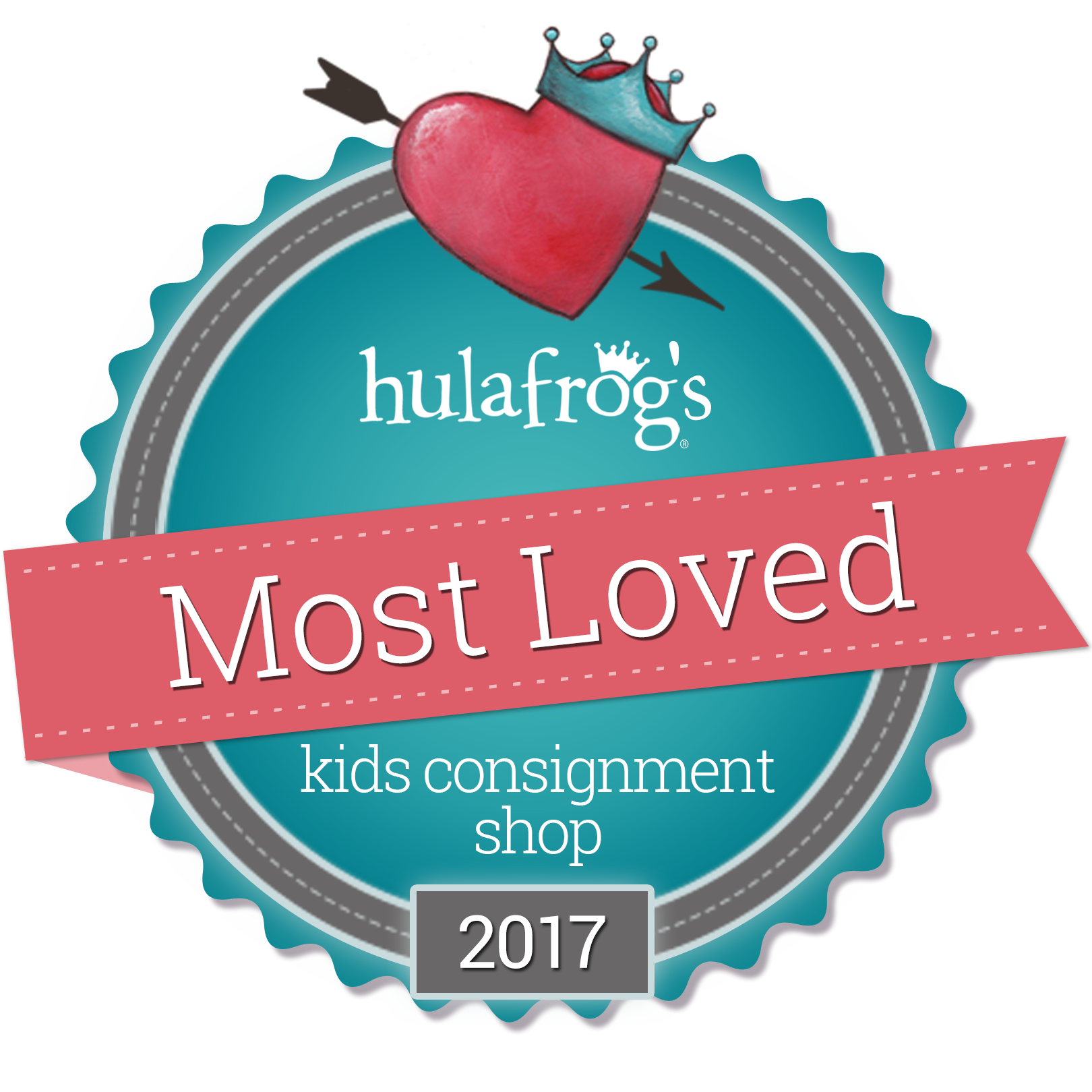 Hula Frogs Most Loved Kids Consignment shop 2017